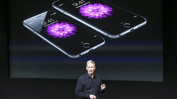 Livevideo: Iphone præsenteres nu - hvad mon den kan?