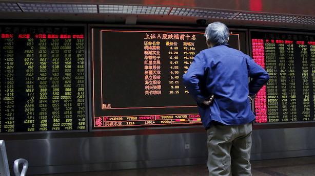 Aktier: Fjernøsten i bakgear grundet bekymring om kinesisk opbremsning