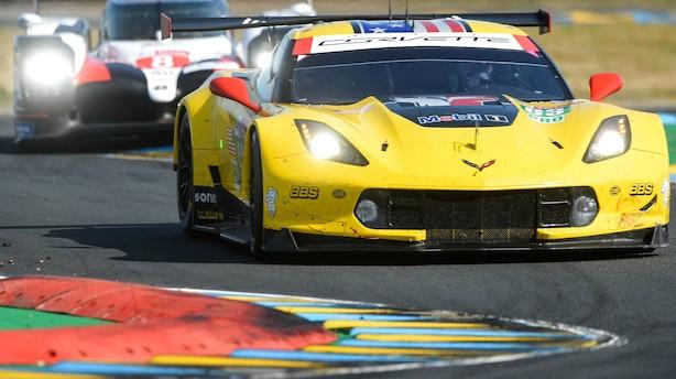 Jan Magnussens Corvette har kurs mod Le Mans-sejr