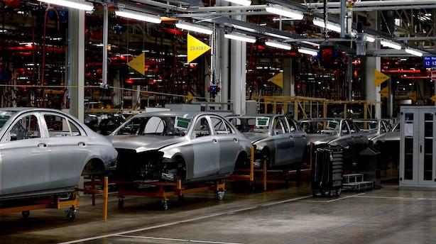 Næste uge vil nøgletal vise om økonomien hos Danmarks største handelspartner trækker sig sammen
