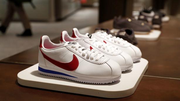 Aktieluk i USA: Små plusser til slut - Nike og Apple øverst i Dow Jones