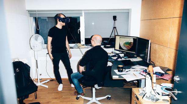 """Jyske brødre spinder guld på 3D-program: """"Det bygger meget på min brors forskning. Han har udviklet nogle ret seje teknikker"""""""