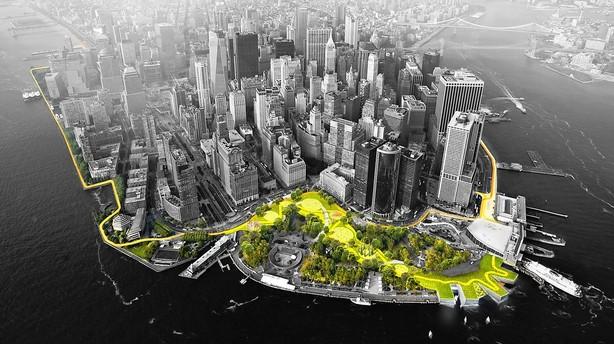 Dansk stjernearkitekt skal klimasikre Manhattan