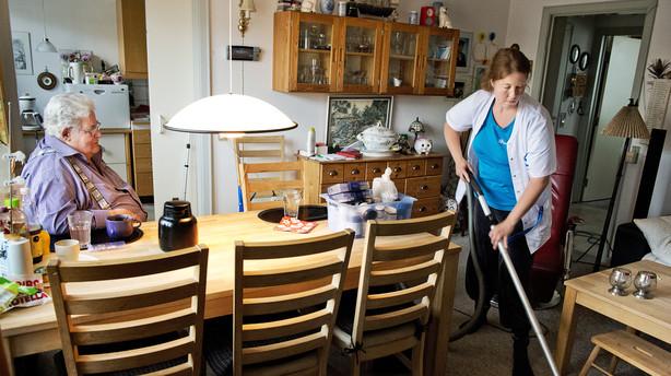 privat hjemmepleje løn