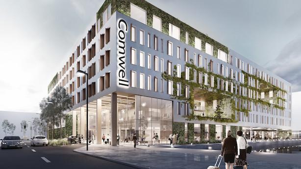 Nyt Comwell hotel på vej i Københavns Nordhavn