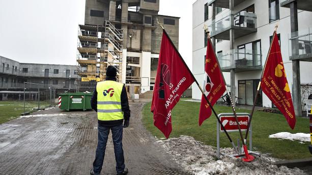 Flere byggefirmaer går konkurs trods opsving