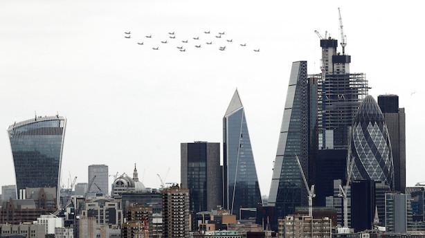 London mister sin status som klodens vigtigste finanscentrum