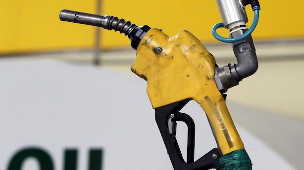 Prisen på olie tager et ordentligt dyk