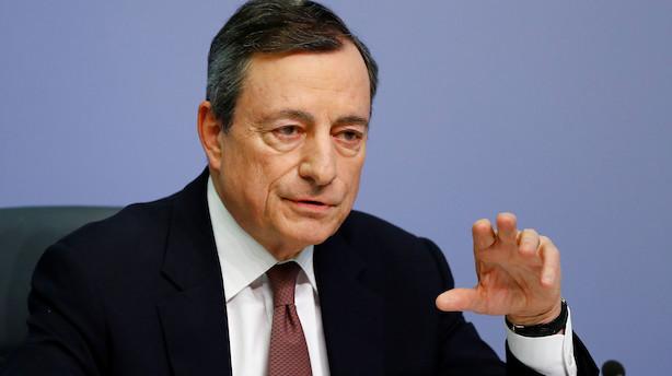 Jyske Bank ser ingen renteforhøjelse fra ECB i 2019 og 2020