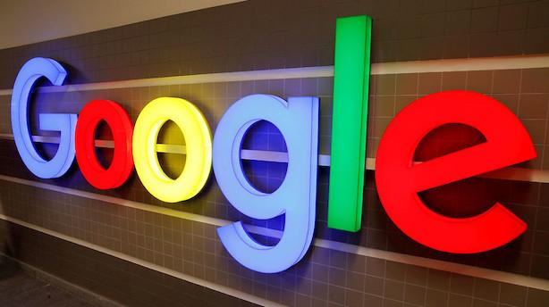Google-ejer straffes efter regnskab - dropper fra rekordniveauet