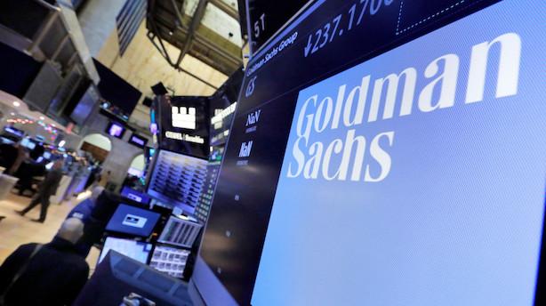 Goldman Sachs: Højere indtægter kravlede ikke med på bunden