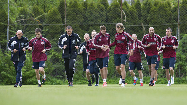 Danmarks EM-hold er blandt de yngste