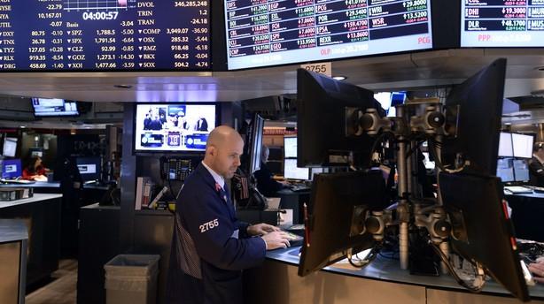 Tredje dag i træk med minus på Wall Street
