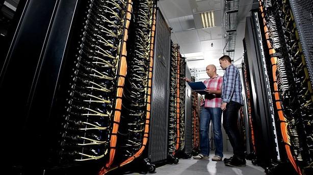 DTU-computer tre gange så stærk som Vestas'