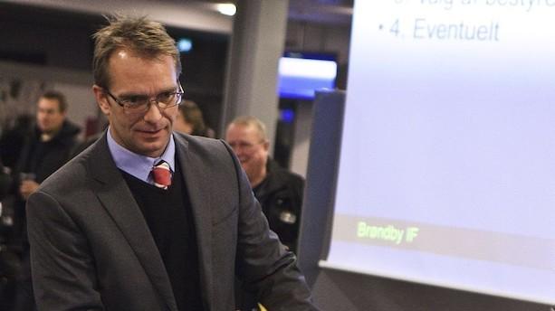 Palmå vender tilbage som kommerciel direktør i Brøndby