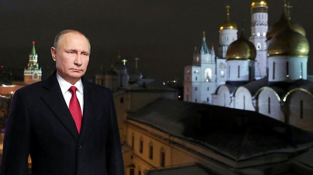 Ny rapport: Putin står bag hackerangreb mod præsidentvalg
