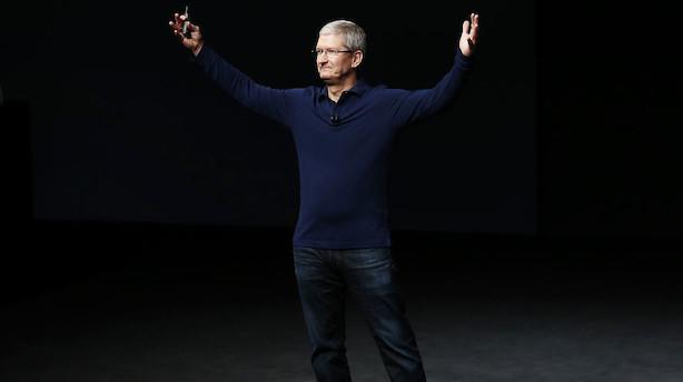Apple lancerer iphone X til 999 dollar - markedet sender aktien i minus