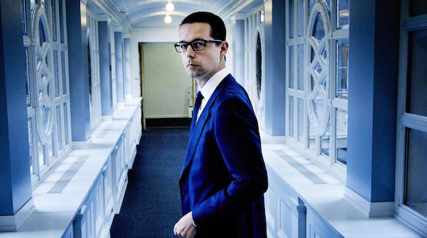 Kometkarrieren sikrede ham landets næstdyreste hus: Nu er Danske Banks kronprins dumpet