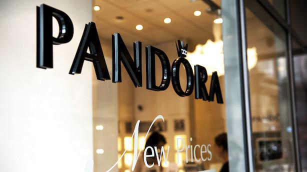 Markedet lukker: Pandora indhentede årets tab dagen derpå