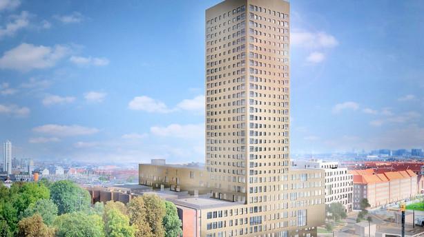 Bo på toppen af København for 16 mio kr