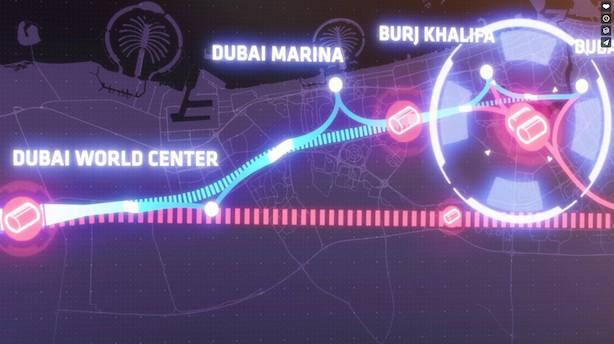 Abu Dhabi-Dubai på 12 minutter: Her er BIGs vilde projekt