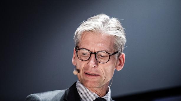 """Danske Bank-boss om politianmeldelse: """"Det tager vi til efterretning"""""""