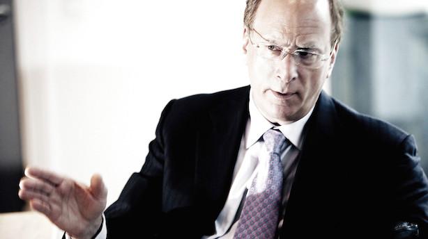 """Topchef i verdens største kapitalforvalter: """"I en tid med store politiske og økonomiske opbrud er dit lederskab uundværligt"""""""