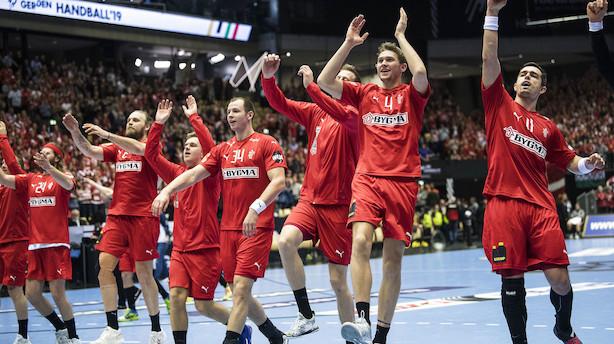 Danmark kan være klar til VM-semifinale før næste kamp
