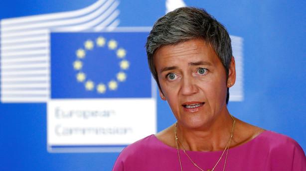 Mette Frederiksen: Margrethe Vestager skal fortsætte som EU-kommissær