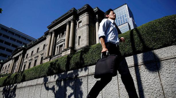 Valuta: Centralbankmøder i centrum - nu med Fed og Bank of Japan