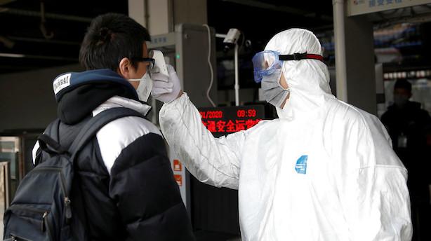 Aktier: Virusfrygt sender de få åbne markeder i Asien  i dørken