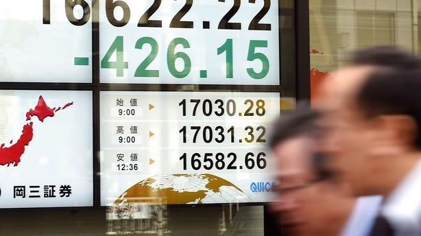 Aktier: Draghi-hint om lempelser giver store plusser i Tokyo