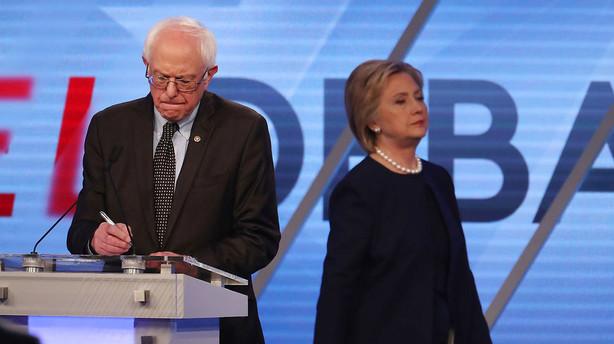 Clinton øger forspring til Sanders med sejr i Arizona