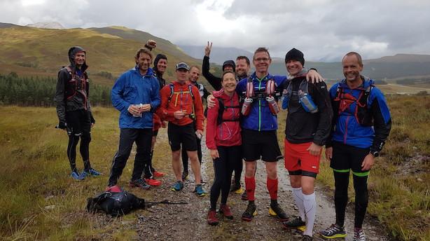 Fornem skotsk finale - 100 kilometer gennemført