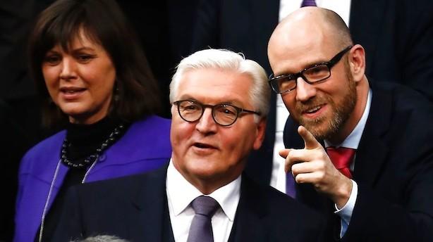 Populær politiker skal holde Tysklands moralske fane højt