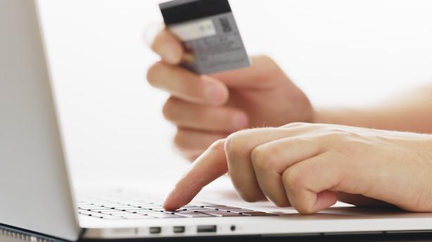 Danskernes pengeforbrug på nettet stiger stadig