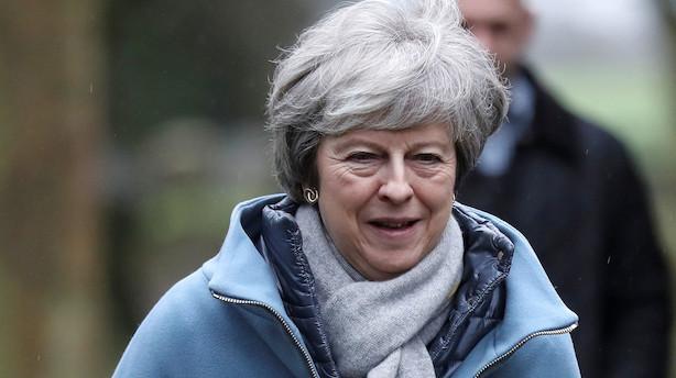 Nordea før afstemning om Mays brexit-strategi: Intet tyder på et gennembrud