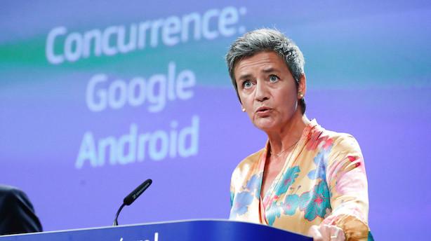 Vestagers opgør mod Google fortsætter: Ny kæmpebøde på vej