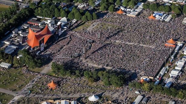 Slut med Coca-Cola i de største barer på Roskilde Festival: Her er de nye spillere