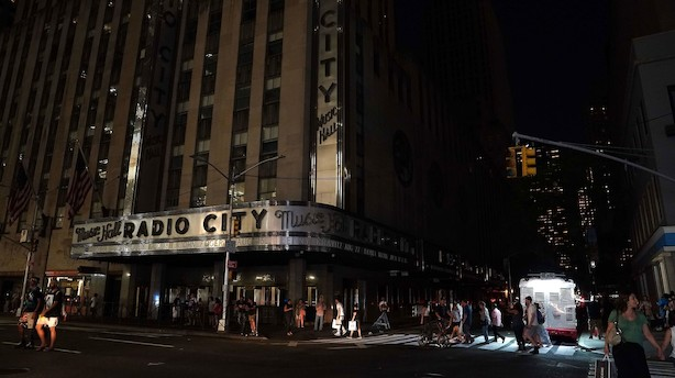 Strømafbrydelse mørklagde Manhattans skyline i timevis