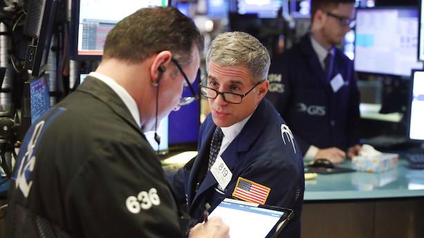 Aktieåbning i USA: Svagt positiv åbning - Dow Jones-indeks falder dog lidt