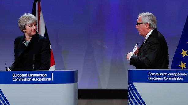 Jean-Claude Juncker frygter brexit-kollaps