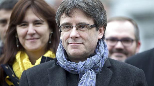 Cataloniens Puigdemont forlader eksil og kommer til Danmark