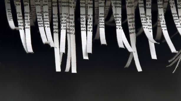 Konfetti-boom i erhvervslivet: Køb af makulatorer seksdoblet efter nye dataregler