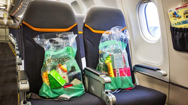 Rejsekoncern vil være luftens store nye taxfreebutik