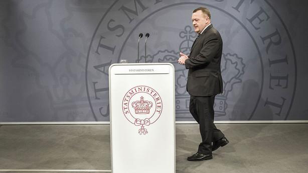 Ministerrokade: Se Løkkes nye hold