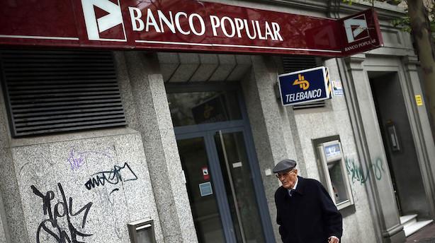 Spansk bank stryger til vejrs efter meldinger om afhændelse af gæld