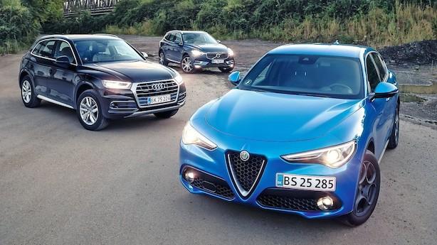 Test: Vi haster til Frankfurt i tre nye SUV'er
