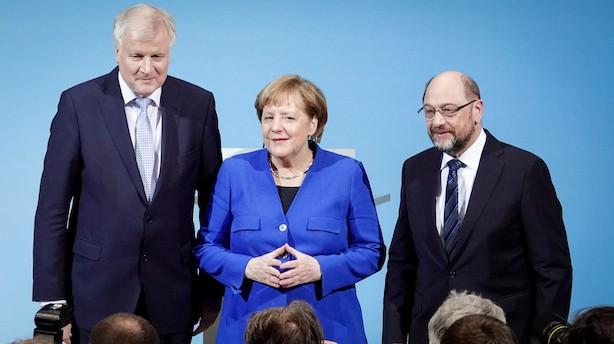 """Merkel: """"Verden venter på os. Vi behøver en ny start for Europa"""""""