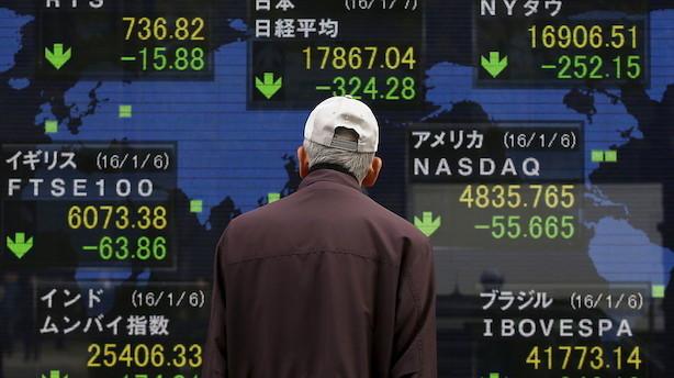 Aktier: Uro i Japan sender blandede bølger rundt i Asien